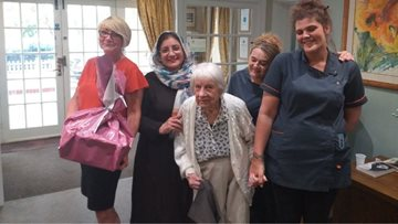 Walton-On-Thames care home receives Eid surprise
